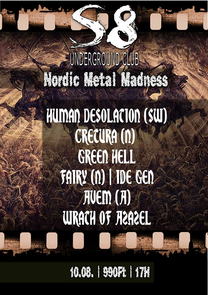 Nordic Metal Madness Flyer