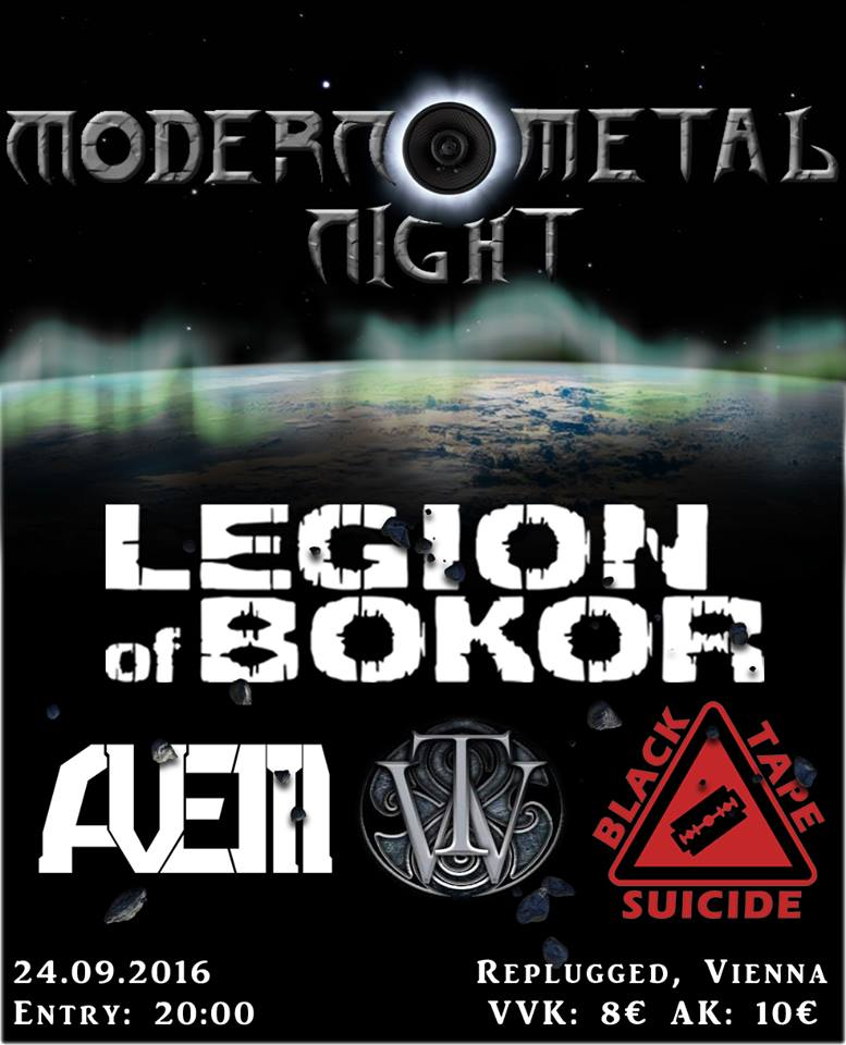 Modern Metal Night Flyer
